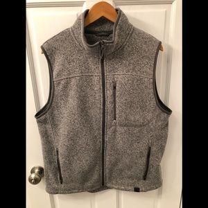 Men's LL Bean Sweater Vest- Gray